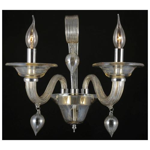 Настенный светильник Crystal Lux Caetano AP2, 120 Вт недорого