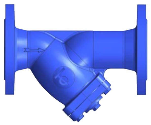 Фильтр механической очистки Tecofi F3240N фланцевый, чугун