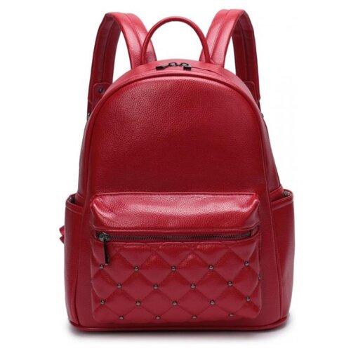 Женский рюкзак из экокожи, цвет красный (арт. DW-813/3)