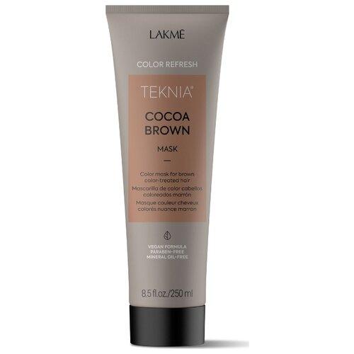 Фото - Lakme Teknia Refresh Cocoa Brown Маска для обновления цвета коричневых оттенков волос, 250 мл refresh маска для максимального объема волос long