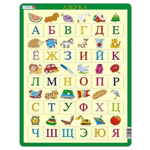 Купить Рамка-вкладыш Larsen Азбука (LS8), 30 дет., Пазлы