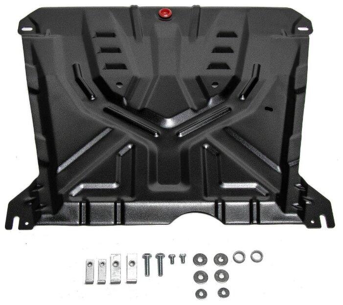 Защита картера двигателя и коробки передач Автоброня 111.01004.3 для Chevrolet