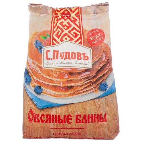 С.Пудовъ Мучная смесь Овсяные блины, 0.4 кг