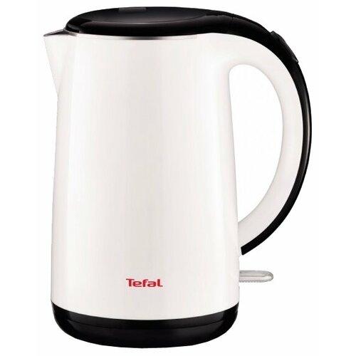 Чайник Tefal KO 2601 Safe to touch, белый чайник tefal ko371 i30 safe to touch 2200 вт чёрный бежевый 1 5 л металл пластик
