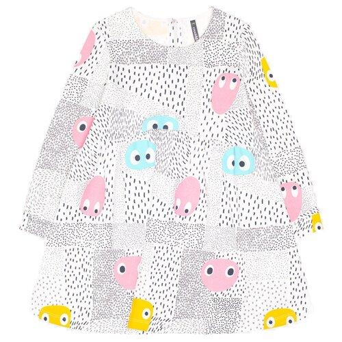 Платье crockid размер 110, смайлики на сахаре