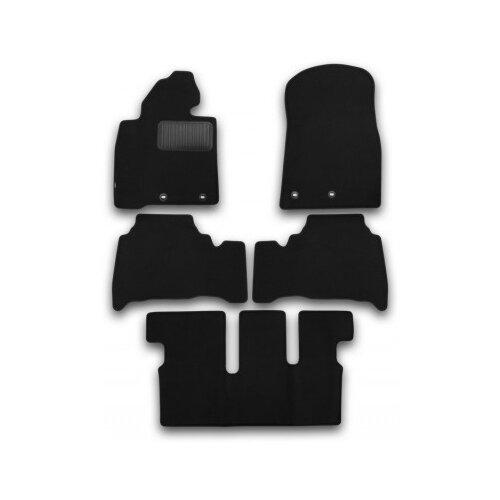 Комплект ковриков KLEVER KVR03489422110kh для Toyota Land Cruiser 5 шт. черный