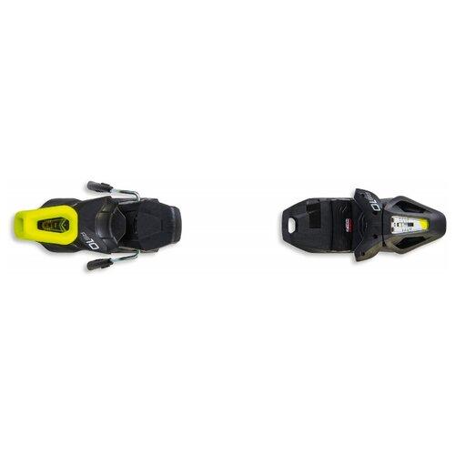 Горнолыжные крепления Fischer RS10 GW Powerrail Solid Black/White/Yellow скистопы 78