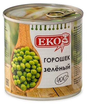 Зеленый горошек Eko, жестяная банка 400 г 425 мл