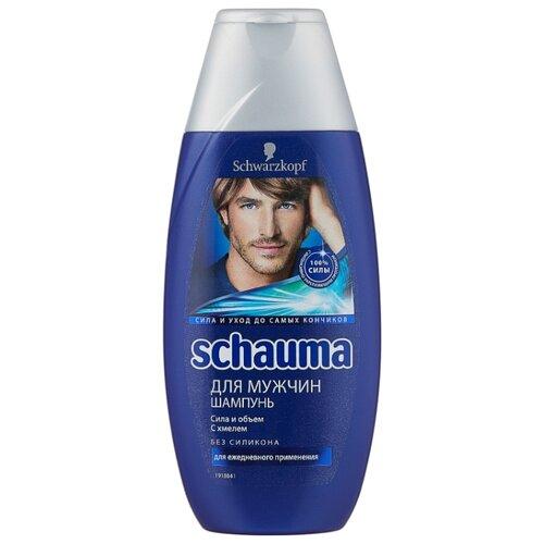Купить Schauma шампунь для мужчин Сила и Объем с хмелем 225 мл