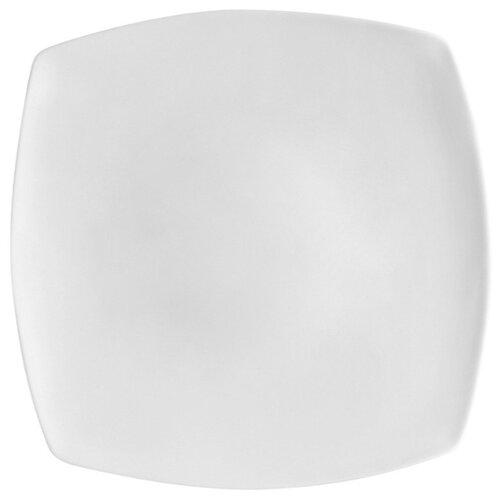 Luminarc Тарелка десертная Quadrato 19х19 см white