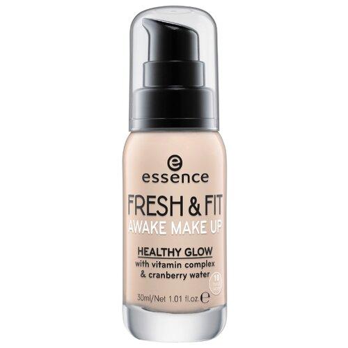 Essence Тональный крем Fresh & Fit Awake Make Up, 30 мл, оттенок: 10 fresh ivory godmask awake eu