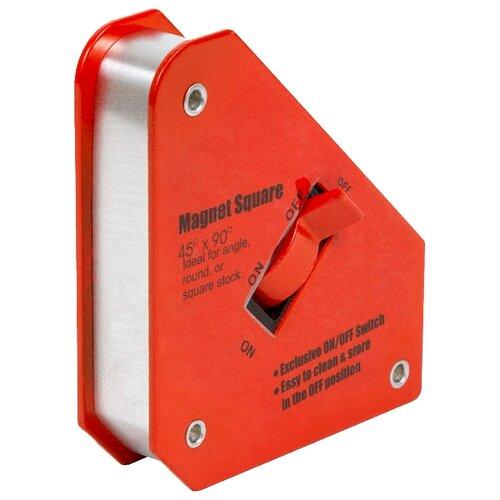 Магнитный угольник Кедр MO-3 красный магнитный угольник start sm1603 75 lbs красный