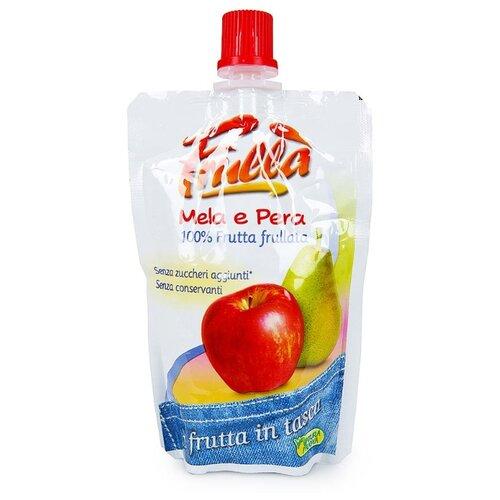 Пюре Natura Nuova из яблока и груши, дой-пак 100 г пшеничная мука vila natura классическая жерновая 800 г