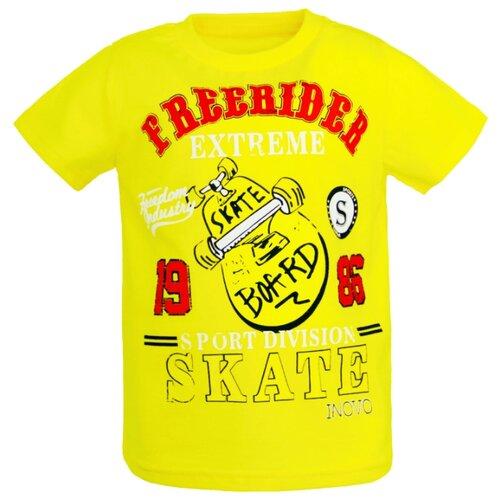 Купить Футболка ИНОВО размер 92, желтый, Футболки и рубашки