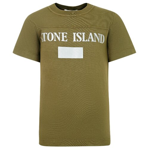 Фото - Футболка Stone Island размер 128, хаки брюки stone island размер 128 зеленый