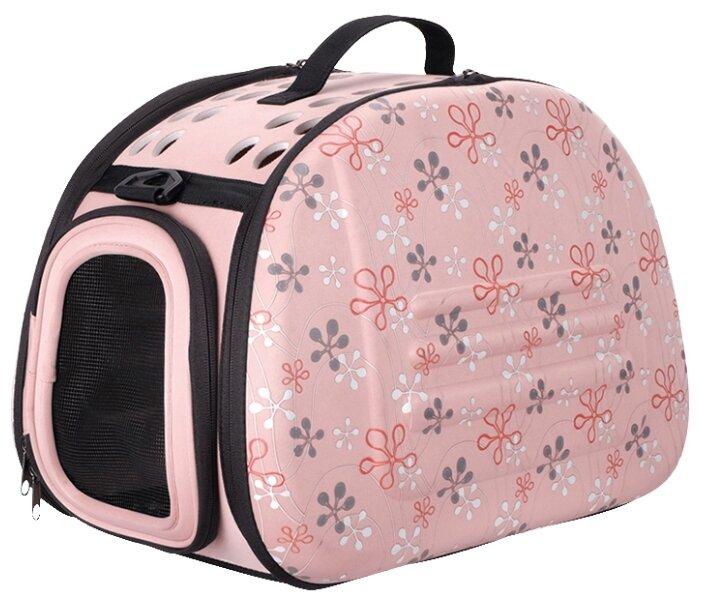 Переноска-сумка для собак Ibiyaya Classic Collapsible 46х30х32 см серый