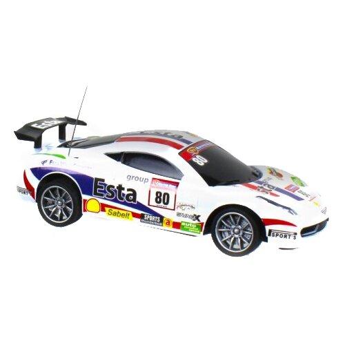 Гоночная машина 1 TOY Спортавто (T13836/Т13837/Т13838) 1:24 20 см белый легковой автомобиль 1 toy спортавто t13833 t13834 t13835 1 24 20 см оранжевый