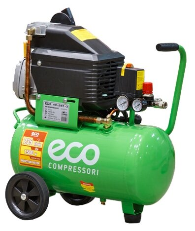 Компрессор масляный Eco AE-251-3, 24 л