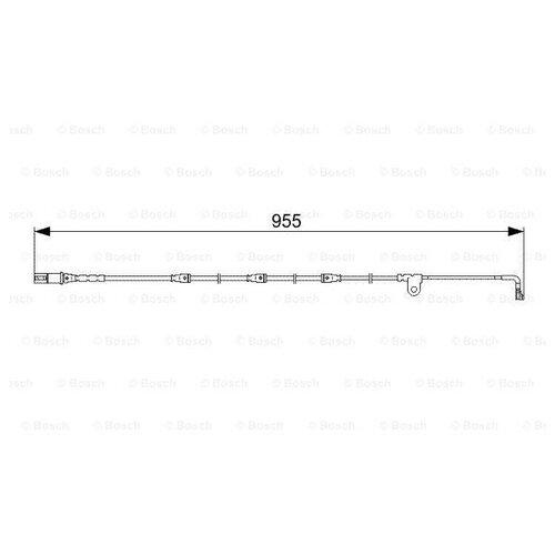 Датчик износа тормозных колодок передний Bosch 1987473028 для BMW X5, BMW X6