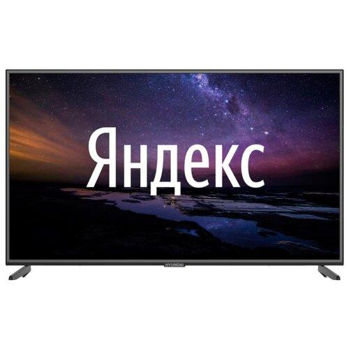 "Телевизор Hyundai H-LED65EU1301 65"" (2020) на платформе Яндекса черный"