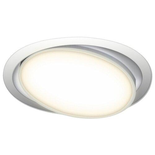 Встраиваемый светильник Donolux DL18813/23W White R встраиваемый светильник donolux dl132g shampagne gold