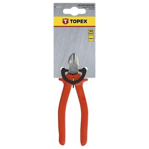 Бокорезы TOPEX 32D517 160 мм красный терка шлифовальная topex 13a334