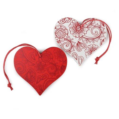 Купить Набор декоративных элементов Сердце 7 х 7 см дерево 2487107, Efco, Украшения и декоративные элементы