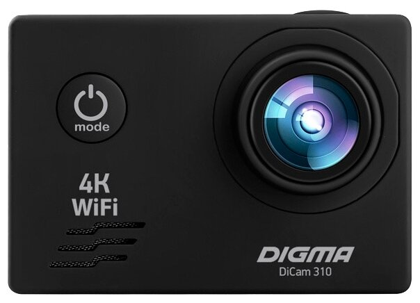 Сравнение с Экшн-камера DIGMA DiCam 310