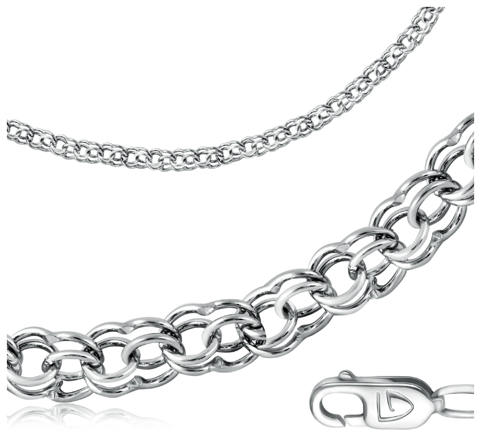 SOKOLOV Цепь из золоченого серебра 988140904, 65 см, 28.64 г