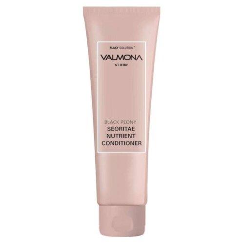 Valmona кондиционер Powerful Solution Black Peony Seoritae Nutrient для предотвращения выпадения волос с экстрактом черных бобов, 100 мл