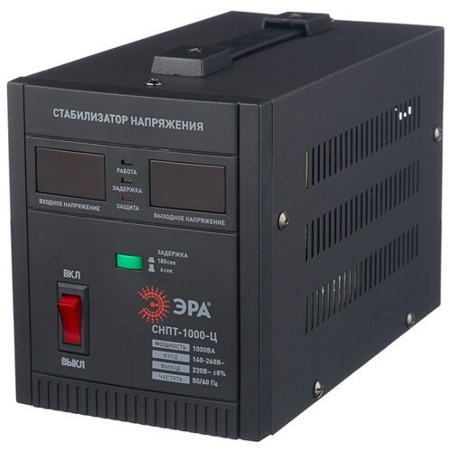 Стабилизатор напряжения однофазный ЭРА СНПТ-1000-Ц стабилизатор напряжения exegate ad 1000