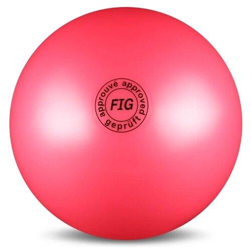 Мяч для художественной гимнастики Indigo AB2801 розовый