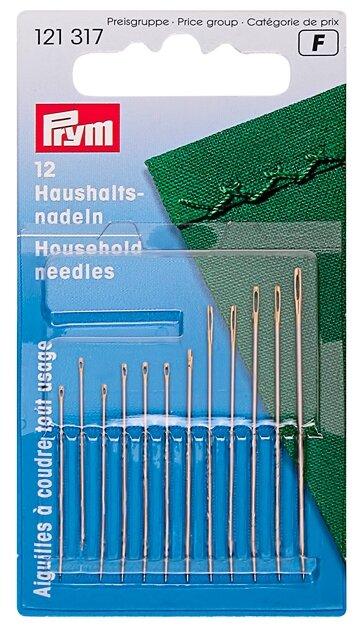 Набор игл ручных Prym 121317 для домашнего хозяйства 12 шт.
