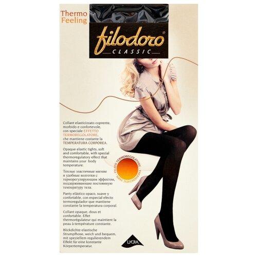 Колготки Filodoro Classic Thermo Feeling 100 den, размер 4-L, nero (черный) колготки anfica classic 30 den
