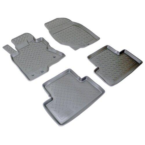 Комплект ковриков NorPlast NPL-Po-33-60 4 шт. черный комплект ковриков norplast npl po 29 33 4 шт черный
