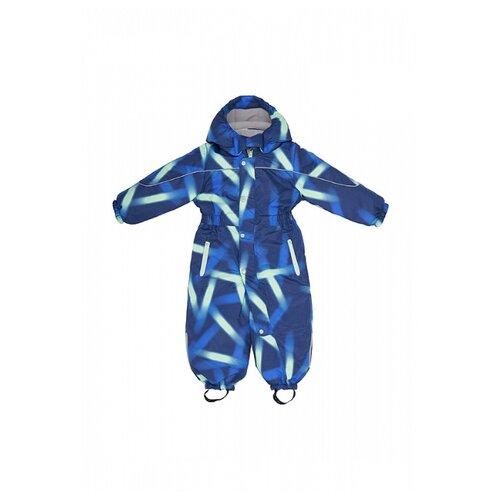 Купить Комбинезон Oldos Тейлор размер 86, синий/мятный, Теплые комбинезоны