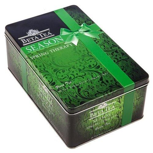 Чай зеленый Beta Tea Весенняя терапия в пакетиках подарочный набор , 80 шт.