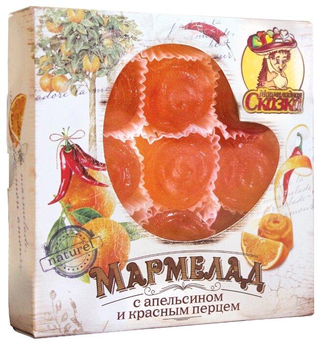 """Мармелад желейный формовой """"С апельсином и красным перцем"""" 300гр."""