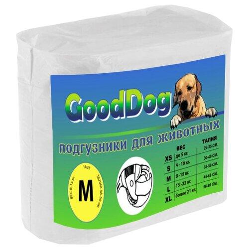Подгузники для собак Good Dog 7751 размер М 14 шт.