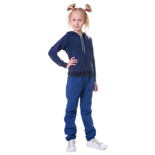 брюки женские oodji ultra цвет темно синий 11706193b 42841 7901n размер 38 170 44 170 Брюки Sherysheff В19053 размер 170, темно-синий