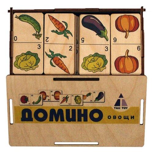 Настольная игра TAU TOY Домино. Овощи