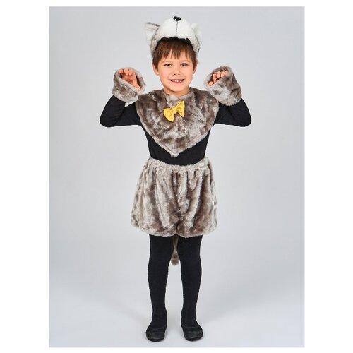 Купить Костюм Радомир Волчонок (С1006), серый, размер 104-134, Карнавальные костюмы