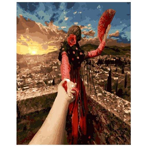 Купить Картина по номерам ВанГогВоМне ZX 20602 Следуй за мной. Испания 40х50 см, Картины по номерам и контурам