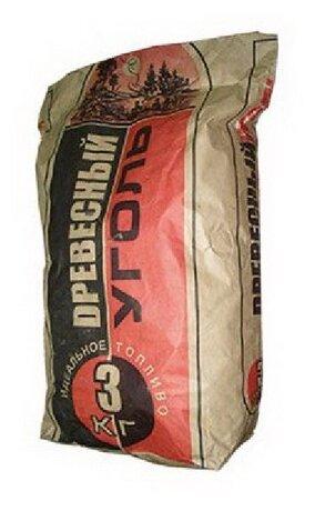 Древуголь Уголь березовый, 3 кг