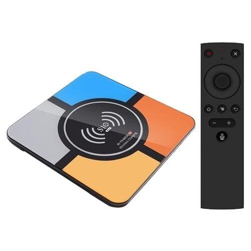 Фото - ТВ-приставка R-TV S10 Plus, черный тв приставка лайм tv box z2 plus 4 32 гб