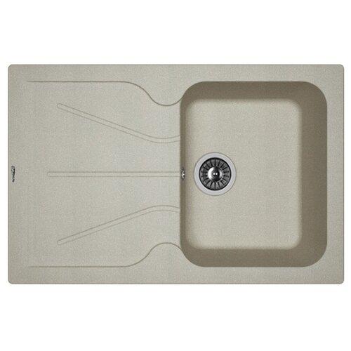 Врезная кухонная мойка 78 см FLORENTINA Гаттинара-780 грей