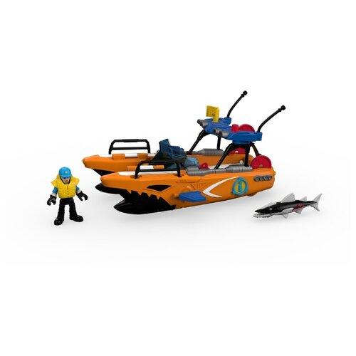 Купить Игровой набор Imaginext Спасательная турболодка DTL95, Игровые наборы и фигурки