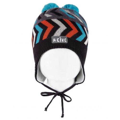 Шапка Reike размер 48, серый шапка шлем reike размер 50 серый