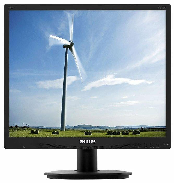 """Монитор Philips 19S4QAB 19"""" — купить по выгодной цене на Яндекс.Маркете"""