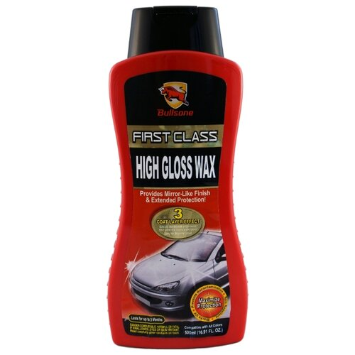 Воск для автомобиля Bullsone High Gloss Wax 0.5 л